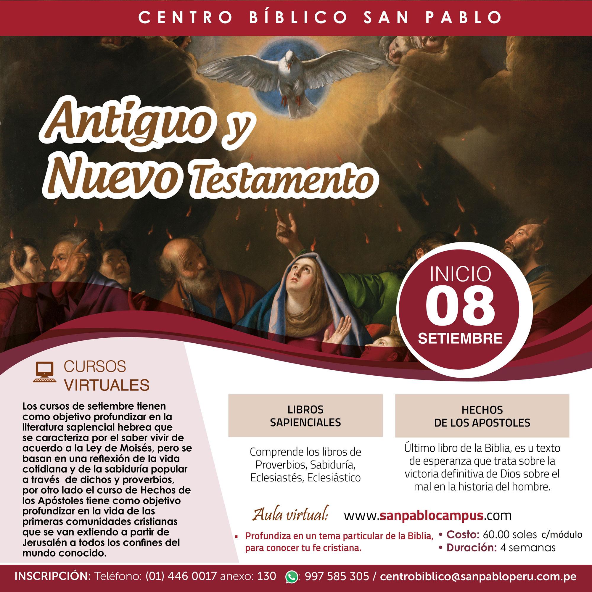 Antiguo y Nuevo Testamento