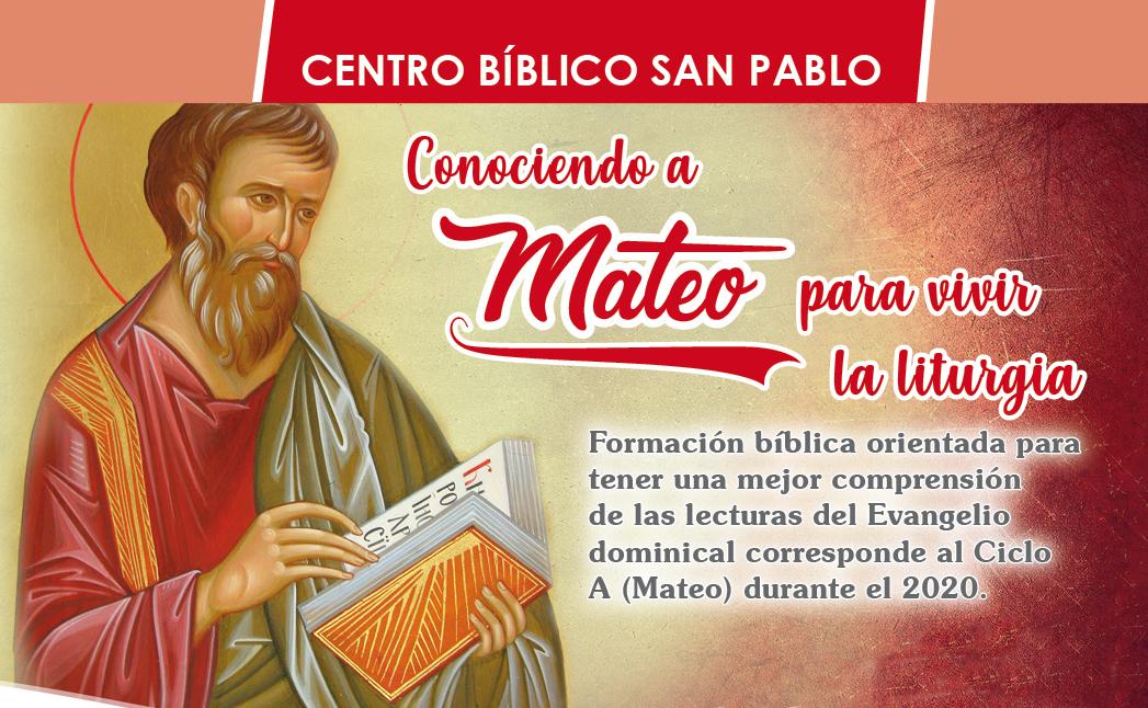 Curso Presencial: Conociendo a Mateo para vivir la liturgia