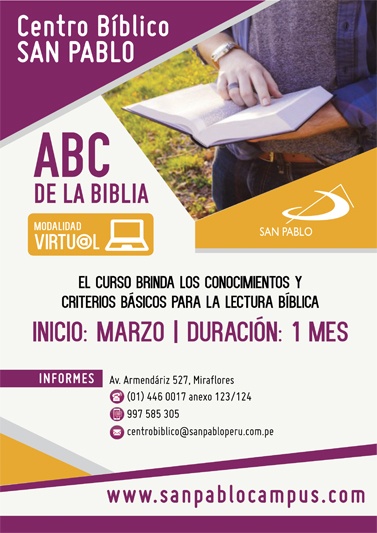 "Curso Virtual el ""ABC de la Biblia"""