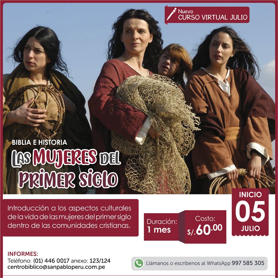Curso Virtual: Las Mujeres del primer Siglo