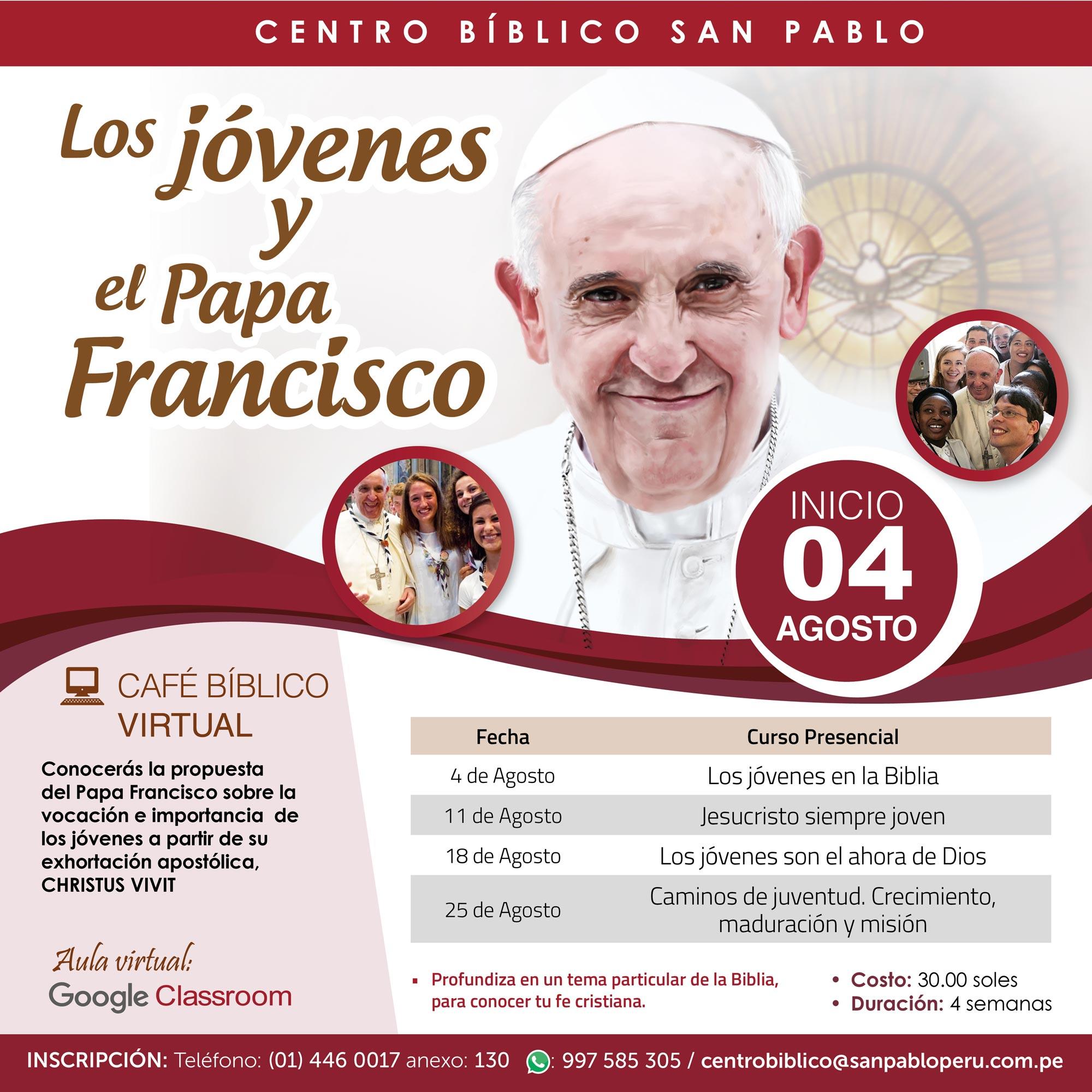 Los jóvenes y el Papa Francisco