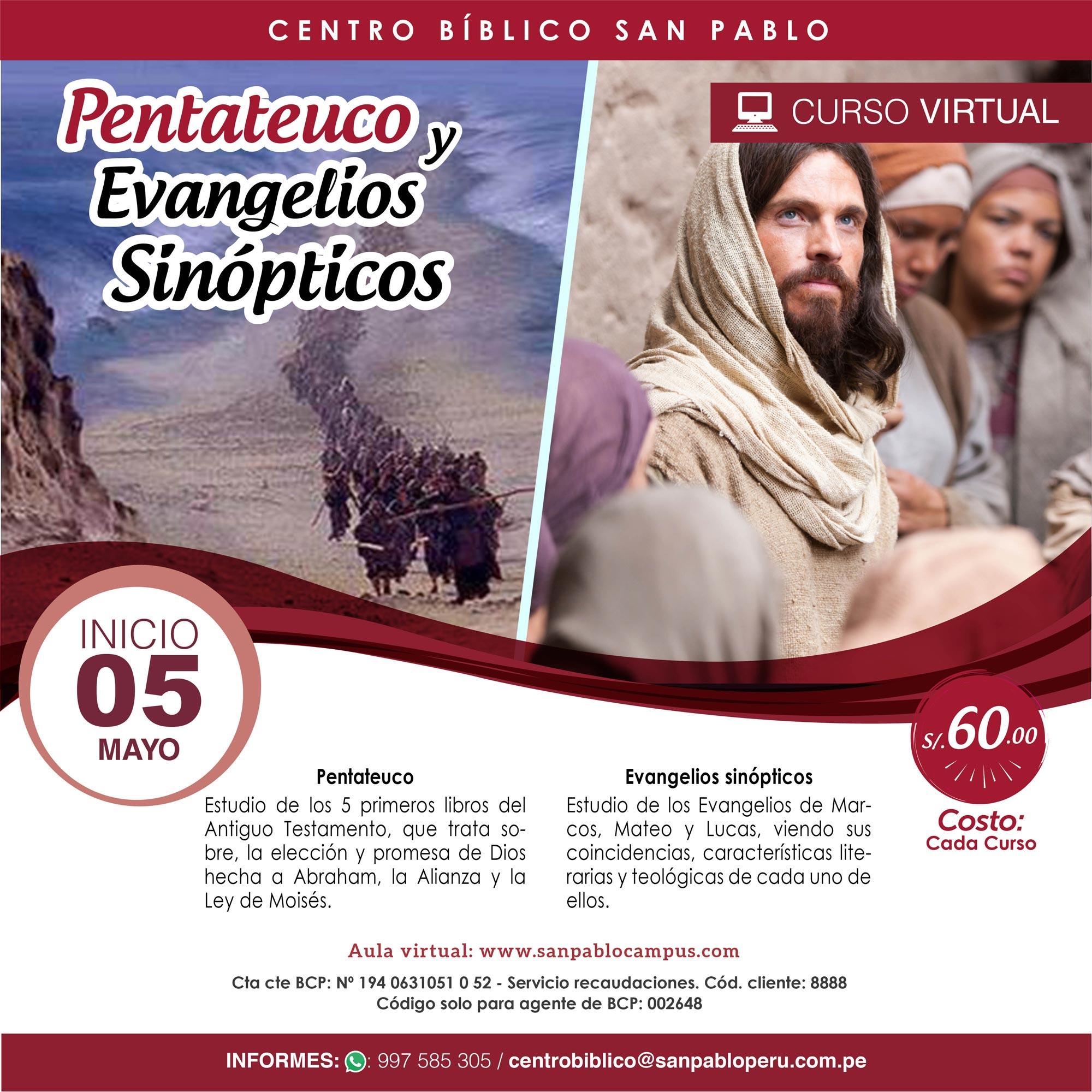 Curso Virtual: Pentateuco y Evangelio Sinópticos