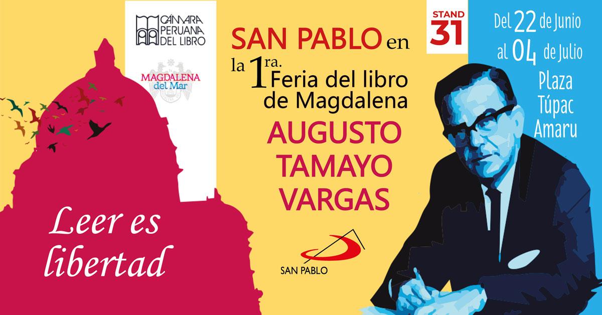"""1ra Feria del Libro de Magdalena """"Augusto Tamayo Vargas"""""""