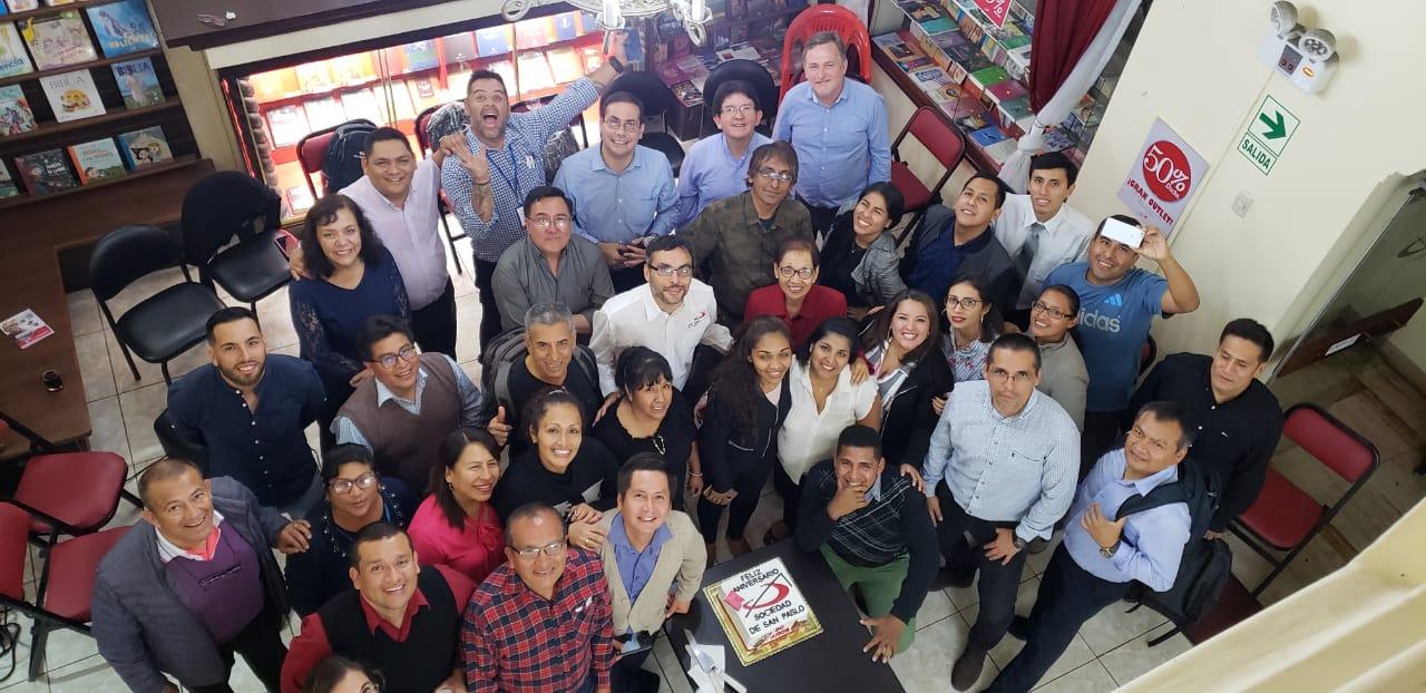 30 años de SOCIEDAD DE SAN PABLO en Perú