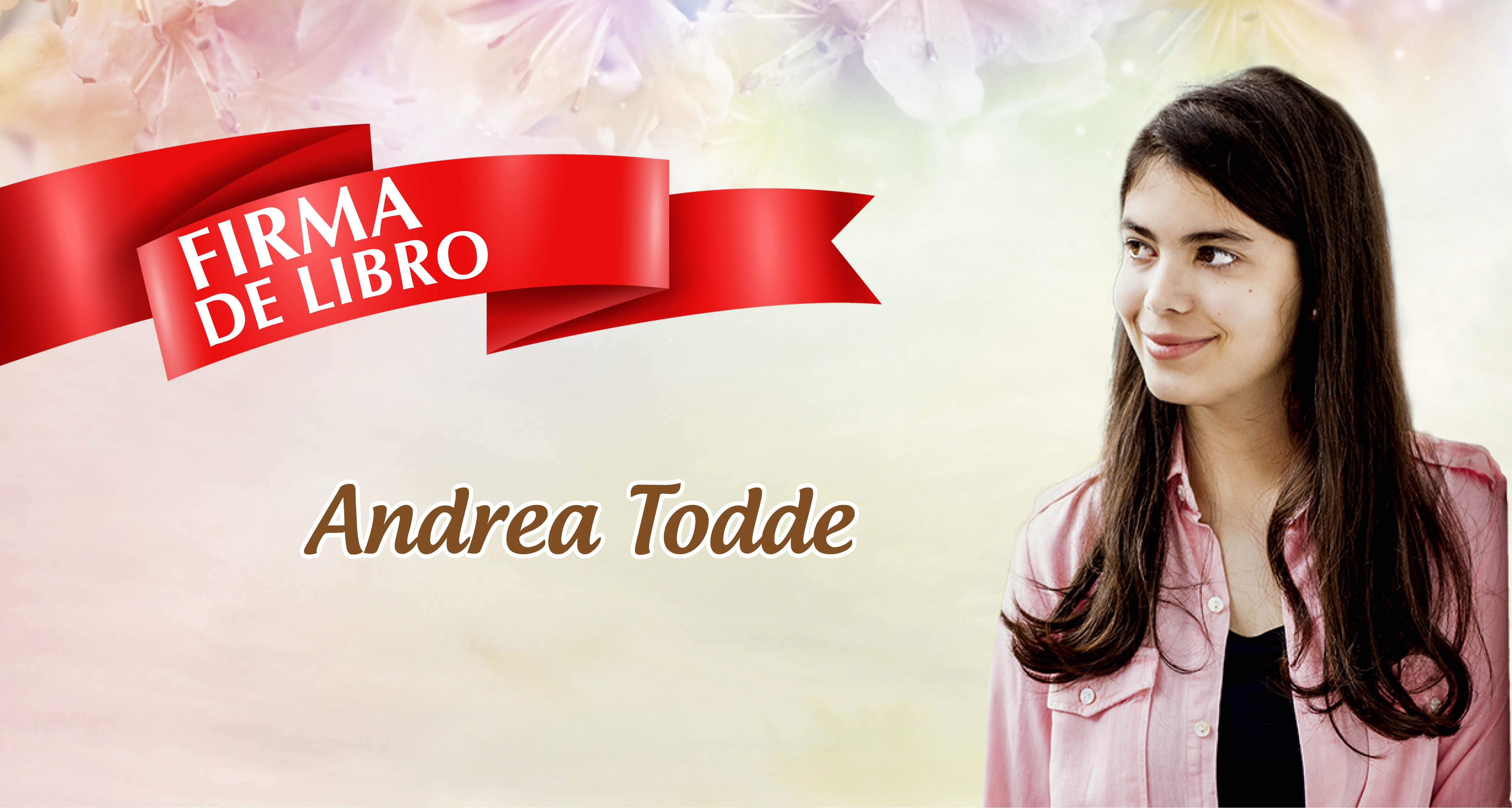 Andrea Todde en la Fil Lima 2019