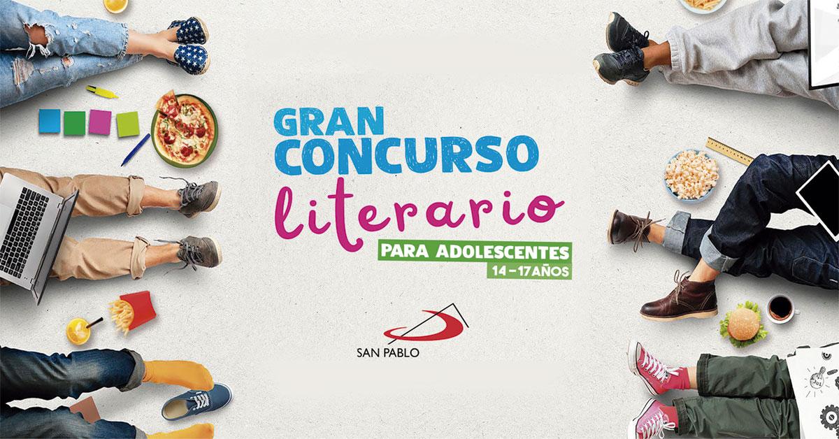 Concurso Literario para adolescentes SAN PABLO
