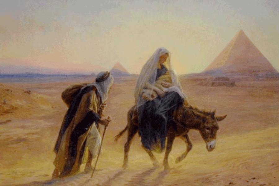 Lectio Divina: Jesús huye a Egipto de un rey asesino