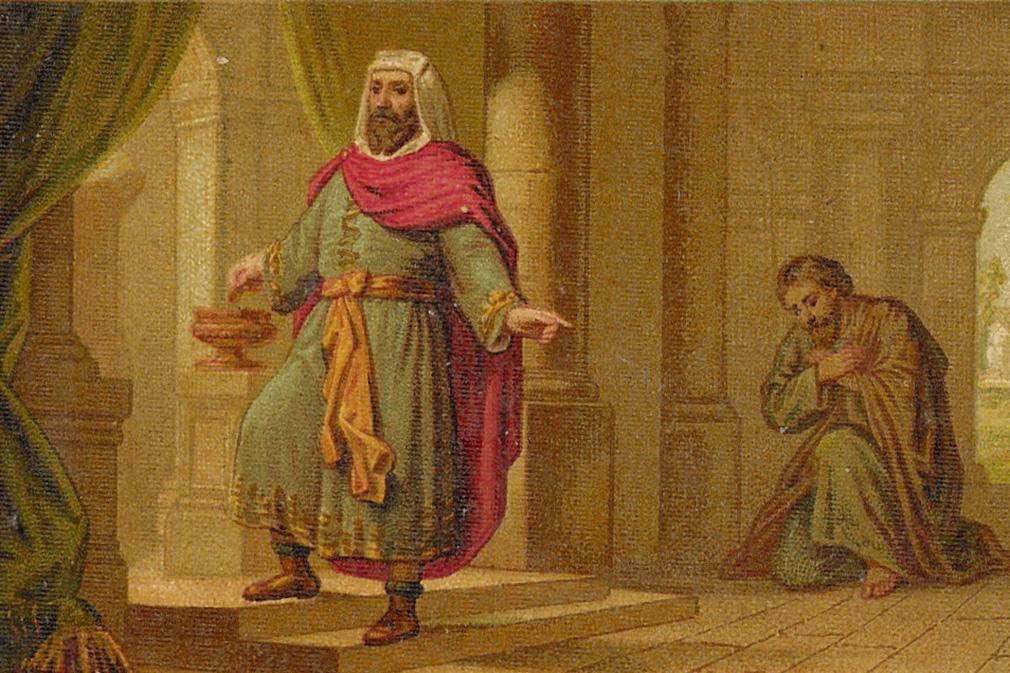 Lectio Divina: Parábola sobre la humildad del discípulo