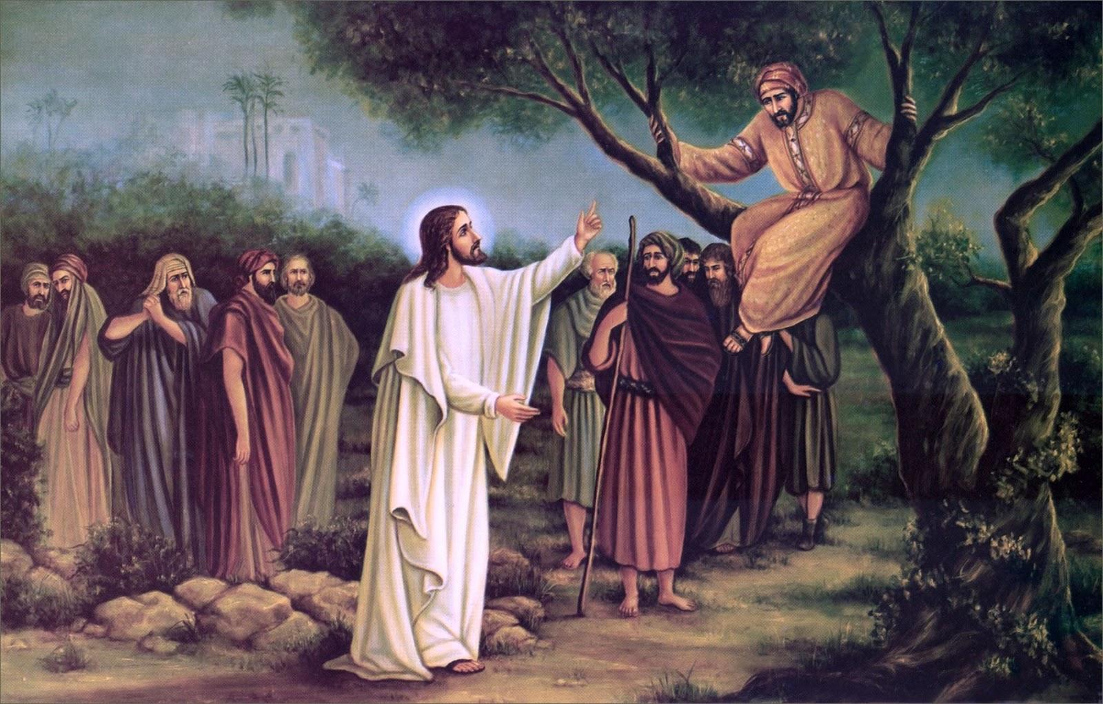 Lectio Divina: Zaqueo y su encuentro con Jesús