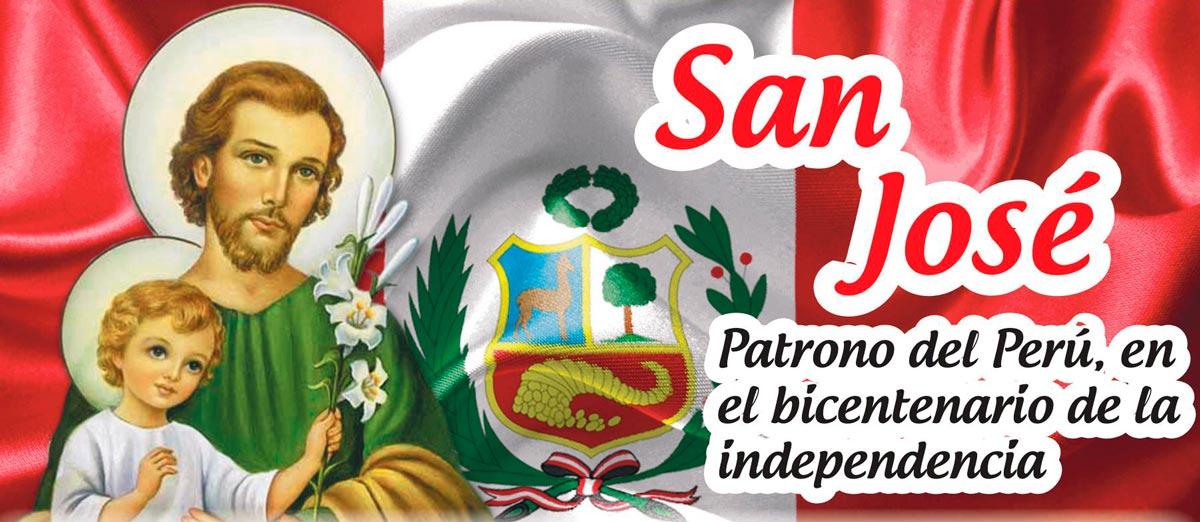 San José, patrono del Perú, en el bicentenario de la Independencia