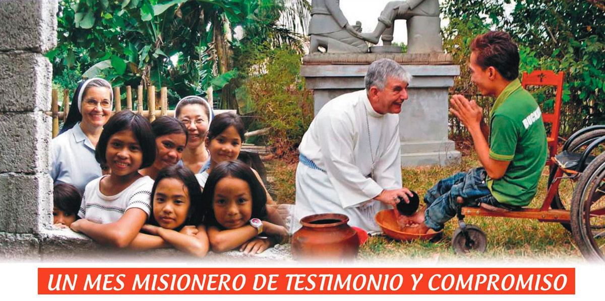 Un mes misionero de testimonio y compromiso